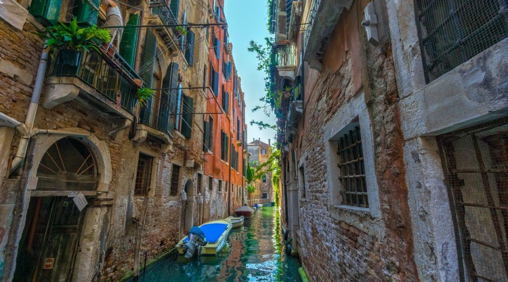 rejsen til Italien